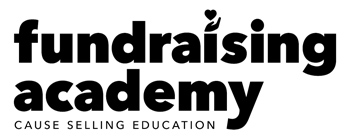 Fundraising Academy Cause Selling Education logo.