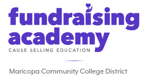 Fundraising Academy at Maricopa Corporate Community College logo.